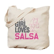 This Girl Loves Salsa Tote Bag