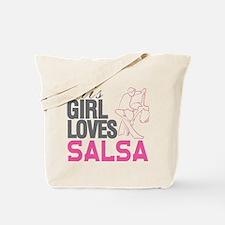 This Girl Loves Salsa Tote Bag