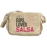 Salsa dancing Messenger Bag