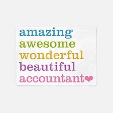 Amazing Accountant 5'x7'Area Rug