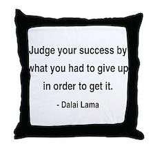 Dalai Lama 8 Throw Pillow