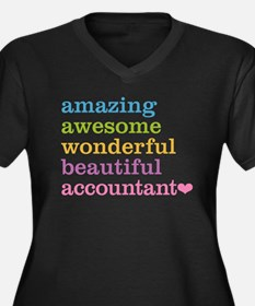 Amazing Accountant Plus Size T-Shirt