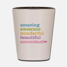 Amazing Accountant Shot Glass