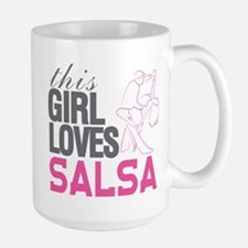 This Girl Loves Salsa Mugs