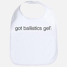 Got Ballistics Gel? Bib