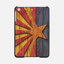 Vintage Arizona Flag Wood Carved iPad Mini Case