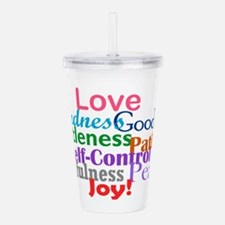 Fruit of the Spirit Acrylic Double-wall Tumbler