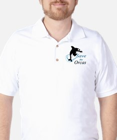 Save The Orcas Golf Shirt