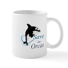 Save The Orcas Mugs