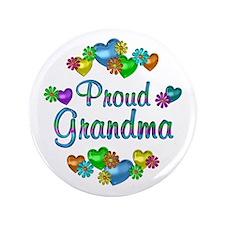 "Proud Grandma 3.5"" Button"