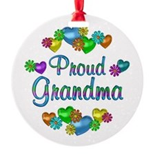 Proud Grandma Ornament