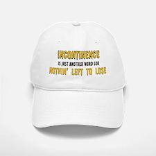incontinence Baseball Baseball Cap