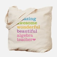 Algebra Teacher Tote Bag