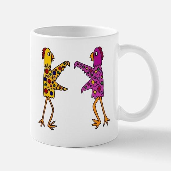 Funky Chickens Mug