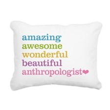 Anthropologist Rectangular Canvas Pillow