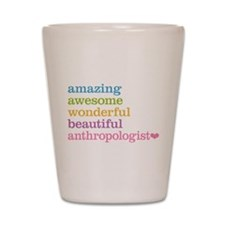 Anthropologist Shot Glass