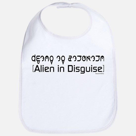 Alien Costume Bib