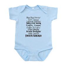 Big Rig Drivin' Infant Bodysuit