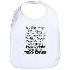 Big Rig Drivin' Bib
