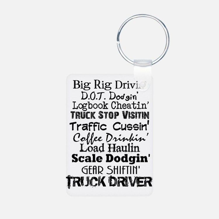 Big Rig Drivin' Keychains