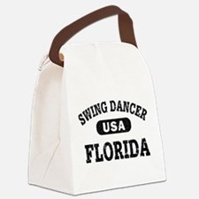 Swing Dancer Florida Canvas Lunch Bag