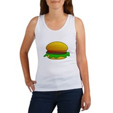 sesame burger Tank Top