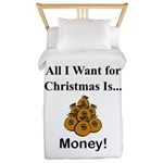 Christmas Money Twin Duvet