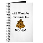 Christmas Money Journal