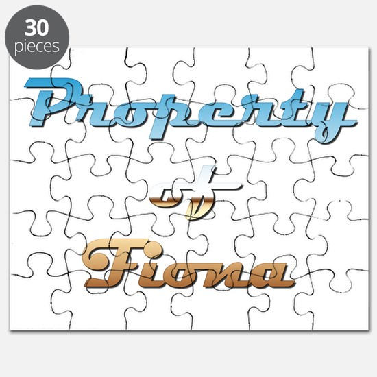 Property Of Fiona Female Puzzle