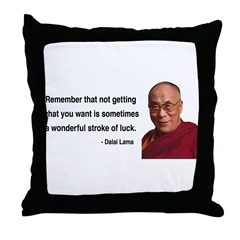 Dalai Lama 9 Throw Pillow