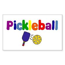 Pickleball Art Decal