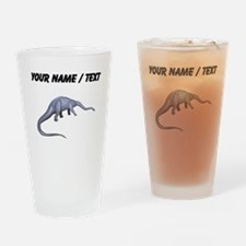 Diplodocus (Custom) Drinking Glass