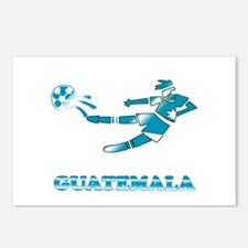 Guatemala Soccer Player Postcards (Package of 8)