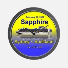 Sapphire Syd - Auckland 2-26-08 - Wall Clock