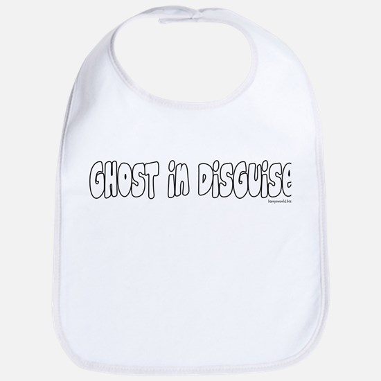 Ghost Costume Bib