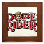 Dope Rider Framed Tile