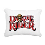 Dope Rider Rectangular Canvas Pillow