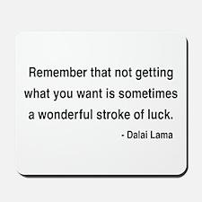 Dalai Lama 9 Mousepad