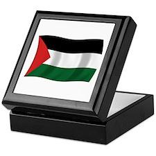 Palestinian Authority Flag Keepsake Box