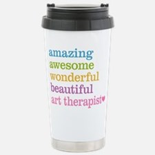 Art Therapist Stainless Steel Travel Mug