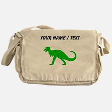 Green T-Rex (Custom) Messenger Bag