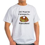 Christmas Pancakes Light T-Shirt