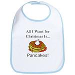 Christmas Pancakes Bib