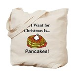 Christmas Pancakes Tote Bag