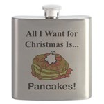 Christmas Pancakes Flask