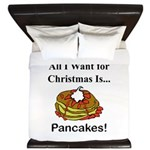 Christmas Pancakes King Duvet