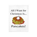 Christmas Pancakes 5'x7'Area Rug