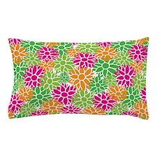 Cute Garden Flowers Pillow Case