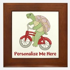 Personalized Bicycle Framed Tile
