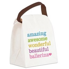 Amazing Ballerina Canvas Lunch Bag